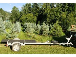 Sport trailer 1BNK-41x14-12, canoe trailer, kayak trailer, sup trailer