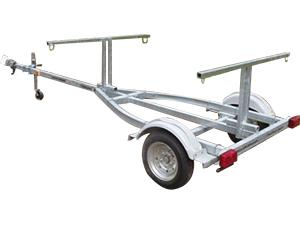 Sport trailer 2A60G42-12-12, canoe trailer, kayak trailer, sup trailer