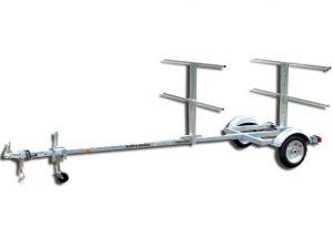 Sport trailer 4A72G42-14-12, canoe trailer, kayak trailer, sup trailer