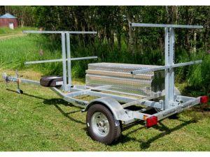 Sport trailer 4G72G51-18-13, canoe trailer, kayak trailer, sup trailer