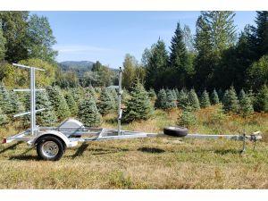 Sport trailer 6G72G55-19-13, canoe trailer, kayak trailer, sup trailer