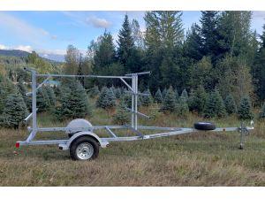 Sport trailer 6G96AG66-19-13, canoe trailer, kayak trailer, sup trailer