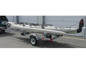 Sport trailer HBTI51-17-12-HC, canoe trailer, kayak trailer, sup trailer
