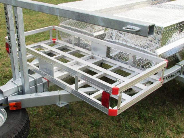 Aluminum Cargo Carrier with Receiver