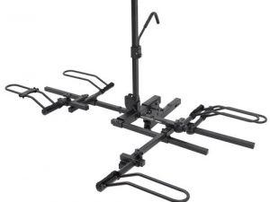 Option Item Bike Rack for 1 Trike or Recumbent and 1 Bikefor Canoe Trailers or Kayak Trailers