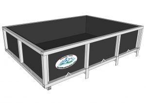 Option Item Open Box 51.5x72x16 with plywoodfor Canoe Trailers or Kayak Trailers